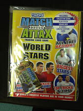 Topps Match Attax World Stars Season Trading Card Game Starter Pack New