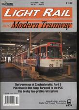 LIGHT RAIL AND MODERN TRAMWAY MAGAZINE - October 1993 - Vol. 56 - No. 670