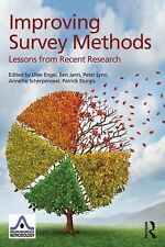 Improving Survey Methods : Lessons from Recent Research (2014, Paperback)