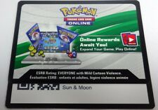 36 x Pokemon SUN & MOON Code Card Via Message/ Online Trade/ Email PTCGO FAST