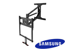 "Above Fireplace Pull Down Full Motion Samsung TV Wall Mount 43"" 50"" 55"" 60"" 70"""