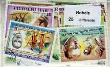 NOBELS 25 timbres différents