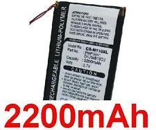 Batterie 2200mAh type DA2WB18D2 Pour iRiver H10 (20GB)