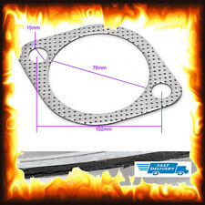 "3"" Inch 76mm Subaru Impreza WRX STi Legacy Decat Big Bore Turbo Exhaust Gasket"