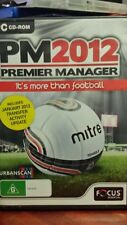 Premier Manager PM 2012 PC GAME (NEW AND SEALED) - FREE POST
