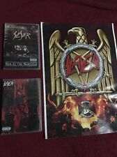Slayer Bundle DVDs +Poster Still Reining War at The Warfield Pantera Megadeth