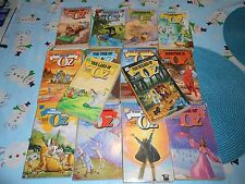 Frank Baum Complete Set 14 Wizard of Oz Pbs Herring Covers Del Rey RARE!