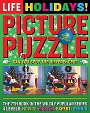 LIFE Holidays! Picture Puzzle BRAND NEW Great Gift FREE SHIPPING From USA