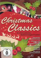 DVD NEU/OVP - Christmas Classics - Die fünf schönsten Weihnachtsgeschichten