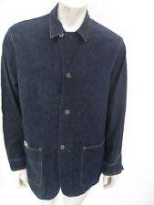 Vintage 1930s-40s HERCULES Denim Railroad Chore Jacket Size LARGE