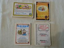 Lot de 86 Derrières de cartes Les Crados GARBAGE GANG