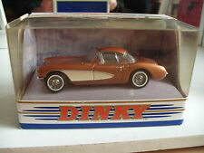 Matchbox Dinky DY-23 1956 Chevrolet Corvette in Gold on 1:43 in Box