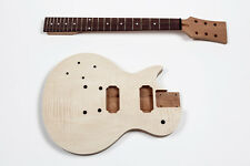 Kit Guitarra Les Paul caoba zurdo - Left-handed electric guitar DIY Mahogany