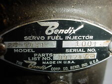 Bendix Servo Fuel Injector Rs-10B1 391787-1 Lycoming IO540