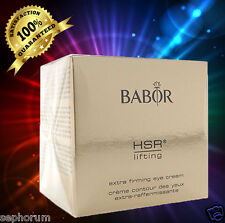 Babor HSR Lifting Extra Firming Eye Cream 30ml NEW IN  Box firm and smooth  $79