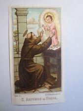 Sanctus / Hl. Antonius von Padua / Andachtsbild Heiligenbild
