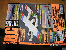 RC Pilot n°85 Plan encarté Ayres Turbo Trush / P51 Mustang DX8 Alpha 1500