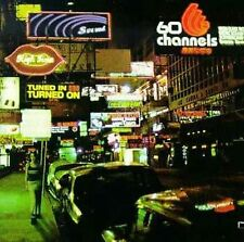 Tuned In, Turned On by 60 Channels (CD, Oct-1998, World Domination)