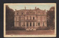SAINT-LEU-la-FORET (95) CHATEAU de la CHAUMETTE en 1952