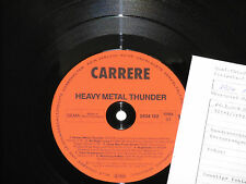 HEAVY METAL THUNDER - (Saxon, Rainbow, Demon..) LP 1982 Carrere Archiv-Copy mint