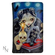 NEMESIS NOW SIGN OF OUR PARTING DARK ANGEL SKULL GOTH PURSE WALLET TATTOO GIFT