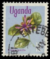 """UGANDA 116 (SG132) - """"Grewia similis"""" 1969 Chalky Paper (pf76677)"""
