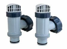 Set of 2 Intex Large Pool Plunger Valve Assemblies New Model Above Ground Swim