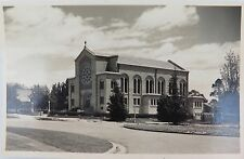 CANBERRA, ACT. VINTAGE REAL PHOTO POSTCARD. ST CHRISTOPHERS R.C. CHURCH