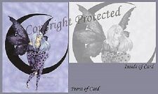 Amy Brown Fairy Greeting Card Moon Dream II Dreamer NEW