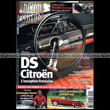 RETROVISEUR N°201 CITROEN DS STORY FORD MUSTANG 1964 BUICK ROADMASTER DELAGE D6