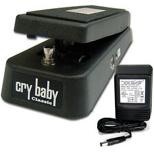 Dunlop GCB95F Crybaby Classic Wah Pedal w/ 9v power supply free shipping!