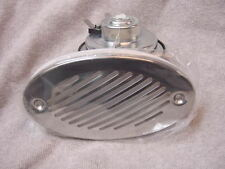 CROWNLINE OEM BOAT HORN FLUSH MOUNT W STAINLESS STEEL GRILL & MEMBRANE NEW !!