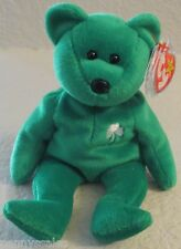 Ty Beanie Baby Erin The Bear 5th Generation Hang Tag 1997