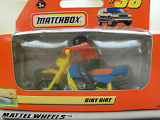 "NEW MATCHBOX ""OUTBACK ADVENTURES"" #38 DIRT BIKE / RIDER DIECAST IN ORIGINAL BOX"