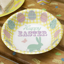 8 HAPPY EASTER PAPER BOWLS Bunny Easter Egg Tea Party Celebration BBQ Buffet