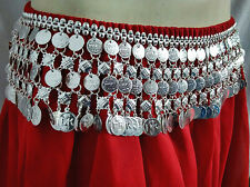 Layerd Turkish Silver Coins Belt Tribal Belly Dance Boho ATS Kuchi Ethnic Gypsy