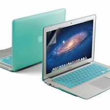 GMYLE Blue Hard Case for MacBook Air 13 inch with Keyboard and Screen Protector