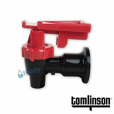 Tomlinson Water Cooler Faucet Spigot Dispenser Valve Red Safety Lock Sunbeam