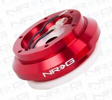 NRG SHORT HUB STEERING WHEEL ADAPTER HONDA INTEGRA CIVIC CRX PRELUDE (RED)