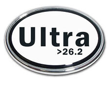 26.2 Ultra Marathon Chrome Plated Car Auto Truck Emblem Made in the USA! NEW