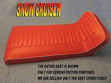 snow cruiser New seat cover 200 200E 1500 2000 2005 2095 Red 829