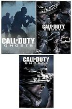 ACTIVISION CALL OF DUTY GHOSTS VIDEO GAME 3 POSTER SET NEW 22x34 FREE SHIP