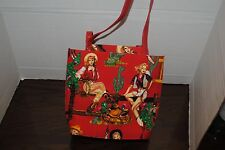 sequined shiny handbag with images of Dale Evans on it