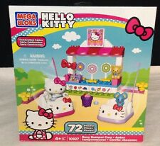 NEW Mega Bloks HELLO KITTY Fun at the Arcades #10927 - 72 Pcs  BUSY BUMPER CARS