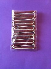 HAIRDRESSING ** 12  VERY SMALL**  RED PERM HAIR CURLERS/ ROLLERS RODS