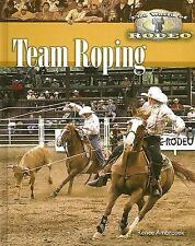 Team Roping (The World of Rodeo)-ExLibrary