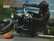Motorcycle Brochure - Moto Guzzi - Product Line Overview - 2003 - Hor (DC148)