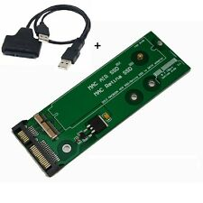 SSD SATA Adapter for 7 +17 / 8 +18 PIN 2012 MacBook Pro Retina, Air & USB CABL