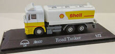MAN F2000 ROAD TANKER - SHELL DIECAST MODEL 1:72/00 SCALE NEW & BOXED
