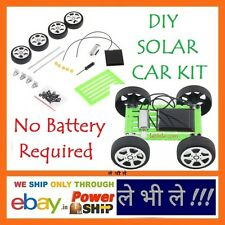 E105 DIY Solar Power Toy Car Kit for Children Educational Hobby Science Projects